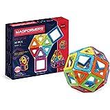 Magformers 005-36001 Konstruktionsspielzeug Basic set, 30-teilig, mehrfarbig