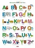 Fragenbär-Lernposter: Mein erstes ABC der Tiere, M 50 x 70 cm: Gerollt, matt folienbeschichtet, abwischbar (Lerne mehr mit Fragenbär)