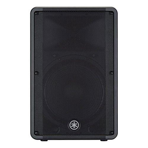 Yamaha dbr15465W schwarz Lautsprecher–Lautsprecher (XLR, kabelgebunden, RCA, 465W, 50–20.000Hz, schwarz)