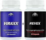 VIRAXX + REVEX im Kombiangebot, Liebe, Lust & Leidenschaft im günstigen Doppelpack