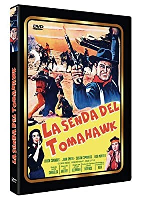 Tomahawk Trail (aka Mark of the Apache, 1957) - Region 2 PAL, plays in English without subtitles by Chuck Connors