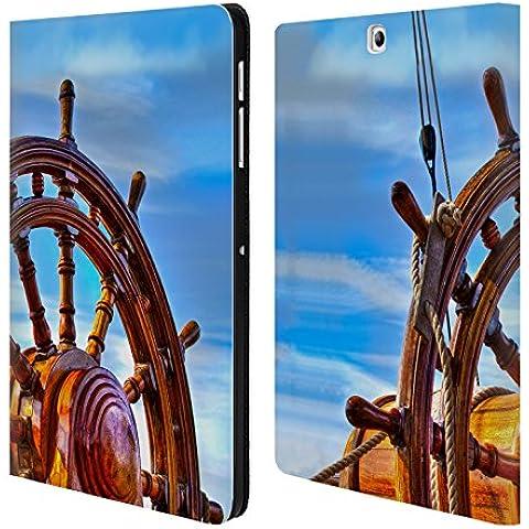 Ufficiale Celebrate Life Gallery L'elmo Attrezzi Cover a portafoglio in pelle per Samsung Galaxy Tab S2