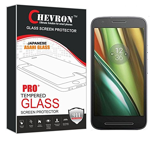 Chevron Amazing PRO+ 0.3 mm 2.5D 9H Hardness Anti-Explosion Tempered Glass Phone Screen Protector For Motorola Moto E3 Power - Retail Packaging - Transparent