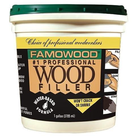 Famowood 40002112 Latex Wood Filler, Cherry/Dark Mahogany, One gallon by FamoWood