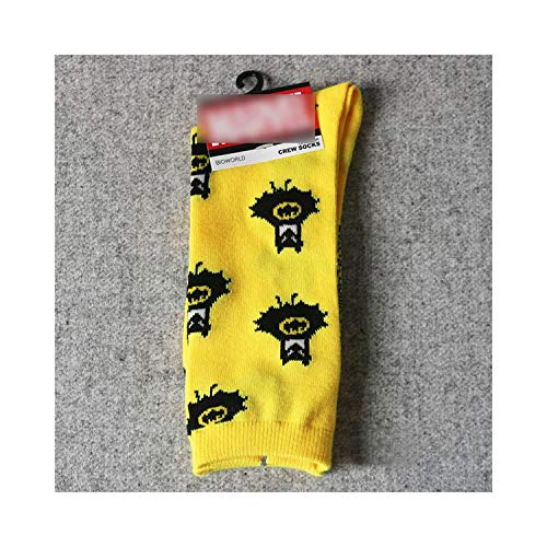 Eanijoy Lustige lässige Baumwollsocken, Crew Socke,NEW High Quality Cotton Women Men Crew Socks Comics Cosplay Pattern Party Novelty Funny Party Socks Breathable Comfortable 09 One Size