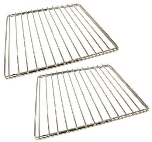 Universal 2 grilles de four extensibles Chromé