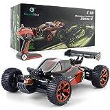 GizmoVine RC Voiture 4WD Haute Vitesse 2.4 Ghz télécommande Voiture électrique Racing Buggy RC véhicule pour Les Enfants et Les Adultes (Rouge)