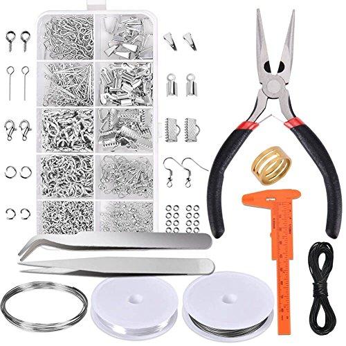 XRY Modeschmuck-Set, Reparatur-Werkzeug-Set mit Zubehör Schmuck Zangen und -