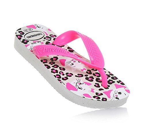 Havaianas Top Marie White Rubber Junior Flip Flops White