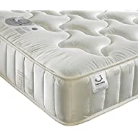 Orthopaedic Open Coil Spring, Happy Beds Pinerest Medium Tension Mattress - 4ft Small Double (120 x 190 cm)