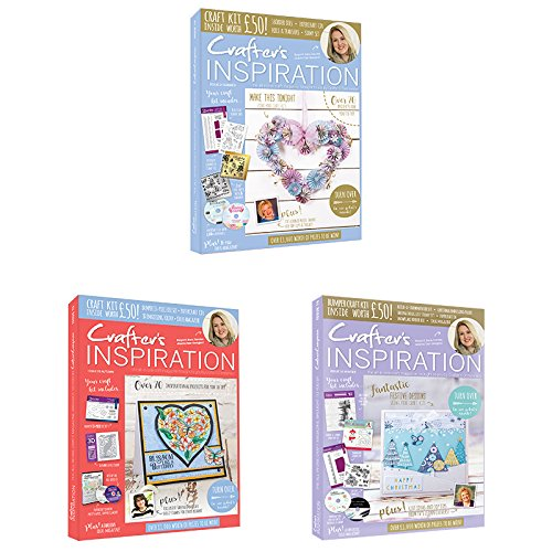 Crafter's Inspiration Magazin Bundle 1, Karte, mehrfarbig, 31,5x 22,5x 8,5cm