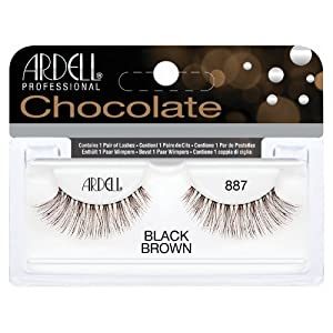 (6 Pack) ARDELL Professional Lashes Chocolate Collection - Black Brown 887