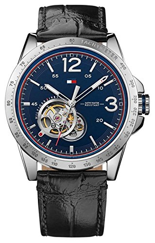 Tommy-Hilfiger-Mens-Watch-Casual-Sport-Analogue-Quartz-Leather-1791253