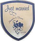 Flaschenetikett Hochzeit 14002 personalisiert