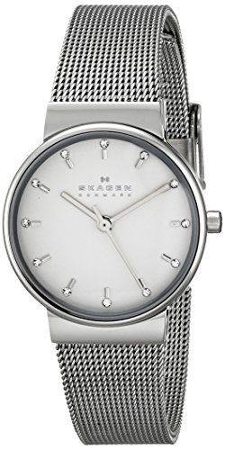 Skagen Ancher Analog Silver Dial Women's Watch - SKW2195 image