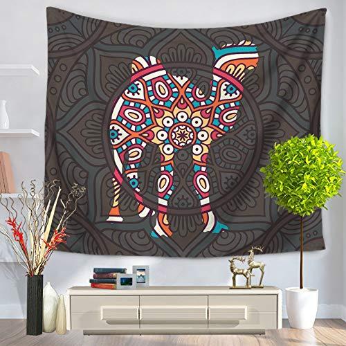 Tapestry Wall Hanging,Indien Folk - Benutzerdefinierte Literarische Psychedelischen Spirituellen Hippie Animal Style Camel Drucken Fabric Home Wohnzimmer Sofa Hintergrund Wandteppich Dekorative Strand -