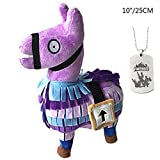 Comtervi  Fortnite Loot Llama Plush Toys, Stuffed Animals Toy for Kids, Child Birthdays Gifts Collection Toy (medium)