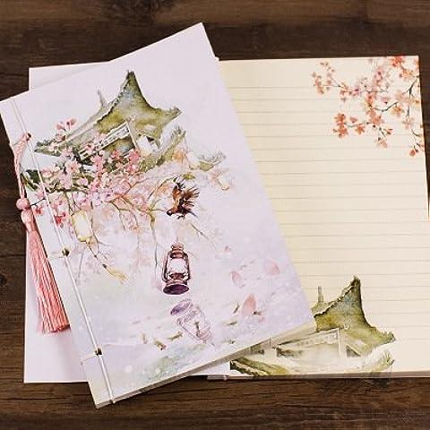MEICHEN-Dipinto di Fresco antiquariato cartoleria vintage II è il classico Notepad, notebook