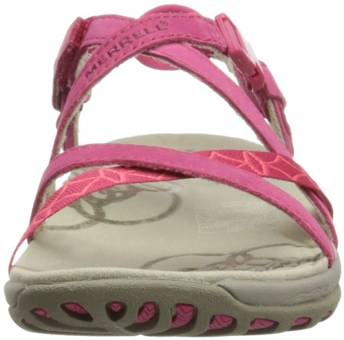 Merrell Jacardia, Sandali Outdoor Donna rosso (Rose Red)