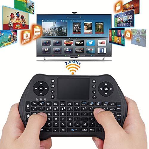 TianranRT RF 2.4G Funk Funk Maus Funk Tastatur Fernbedienung Für Smart TV Box Mini PC - Windows-reinigungs-tools