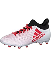adidas Herren X 17.3 FG Fußballschuhe, Weiß, 16 EU