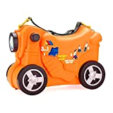 Moltó Smiler Moto maleta deluxe-Naranja
