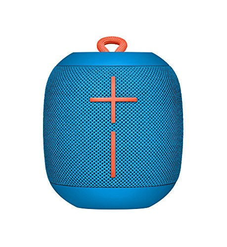 Ultimate Ears 984-000852 WonderBoom Bluetooth Lautsprecher (wasserdichter 360°-Sound) - Subzero Blau