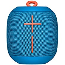 UE Wonderboom Bluetooth Lautsprecher (stoßfest Wasserdicht, Verbindung von zwei Geräten möglich) subzero blau