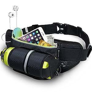 Running Belt with Water Bottle Holder MYCARBON Fitness