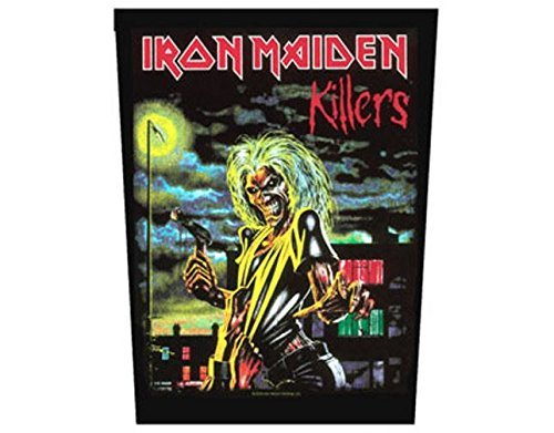 Iron Maiden - Killers - Grande Toppa/Patch