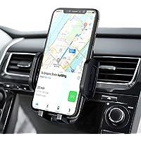 Mpow Supporto Smartphone per Bocchetta Dell'aria Auto con Morsetto Regolabile a 3 livelli, Rotazione di 360 Gradi, Robusto Porta Cellulare da Auto Compatibile con iPhone, Galaxy, Huawei, Xiaomi, ecc