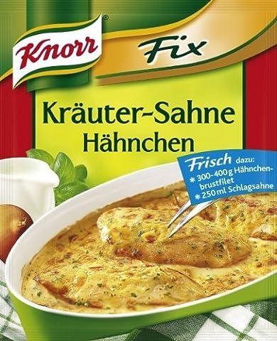 Knorr Fix Creamy Chicken with Herbs (Kruter-Sahne Hhnchen) 3 Bags