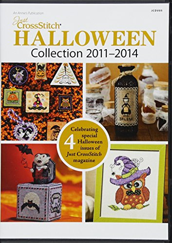 Just Crossstitch Halloween Collection 2011-2014 CD