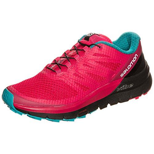Salomon Sense Pro MAX W, Zapatillas de Trail Running para Mujer, Rosa...