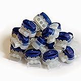 Digisky®-SET: 50 Stück wasserdichte Kabelverbinder für Automower von Husqvarna und Gardena Mähroboter (R40Li, R45 Li, R70Li) (3M Scotchlok Verbinder 314, 0,5 – 1,5qmm)