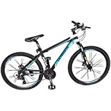 Atlas Sting 26 Inches 6061 24Speed Alloy Bicycle For Adults Black & Blue