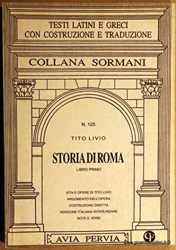 Storia di Roma. Libro 1º