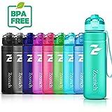 Best Sports Water Bottle Leak Proof 1.2L/1L/700ml/500ml Plastic Drink Bottles|Kids,Adults,Gym,School,Sport,Cycling|with Times to Drink