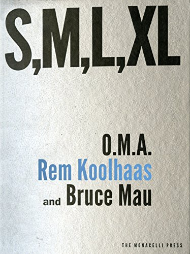 S, M, L, XL (Small, Medium, Large, Extra-Large) por Rem Koolhaas