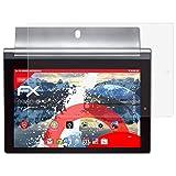 atFolix Panzerschutzfolie für Lenovo Yoga Tablet 2-10 Panzerfolie - 2 x FX-Shock-Antireflex blendfreie stoßabsorbierende Displayschutzfolie