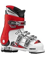 Roces Skischuhe Idea 22.5-25.5 MP - Botas de esquí alpino, color Blanco, talla 22.5