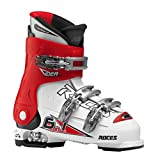 Roces Kinder Skischuhe Idea 22.5-25.5 MP, White-Red-Black, 22.5, 450502-015