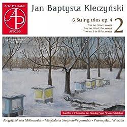 6 Streichtrios Op.4,vol.2