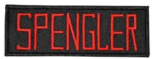 Ghostbusters Film Spengler Uniform Name Brust Patch