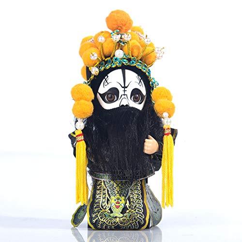 AMYBDS China Peking Oper Figurine Statue Dekor Souvenir Und Kunst Ornament Weihnachten Geschenk Chinesisch Geschenke,C
