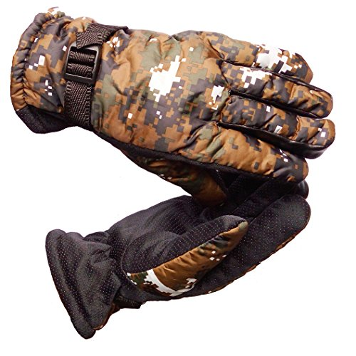 AlexVyan Warm Winter Gloves Low Temperature Snow proof Protective Gloves for Men, Boys, Male Universal Size 51aWZpImOgL