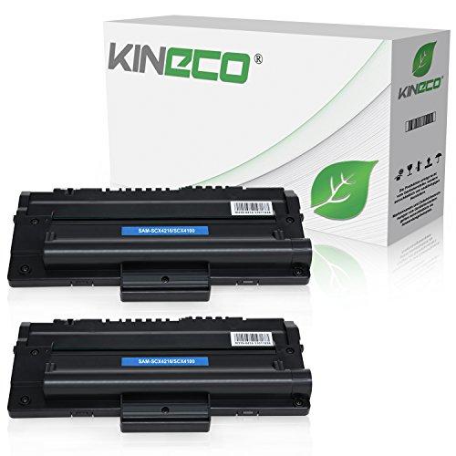 2 Toner kompatibel zu Samsung SCX-4216FN 4214F 4166 4016 SF-560 565P 750 755P CF 560 750 Msys 7500 Series 755P -SCX-4216D3/ELS - Schwarz je 4.000 Seiten -
