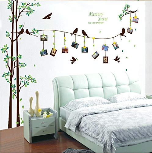 Xqwzm 205 * 290 cm grande foto albero wall stickers home decor soggiorno camera da letto 3d wall art decalcomanie murales famiglia fai da te