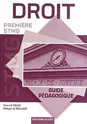 Guide pedagogique droit 1re stmg