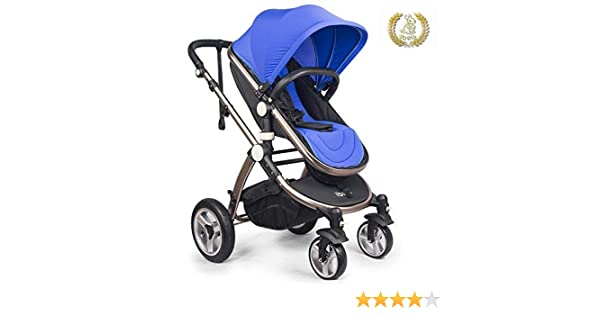 Purple High Quality Baby Stroller IBEIS Prams 2 in 1 for Newborns European Folding Baby Carriage for 0 to 36 Months
